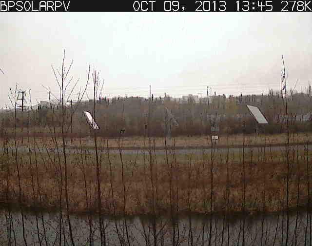 CCHRC Solar PV Array Image